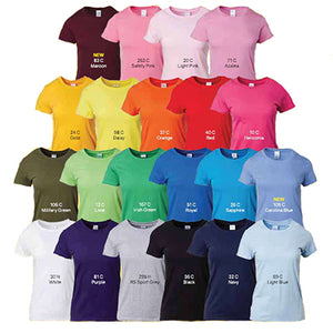 Gildan Ladies T-Shirt | AbrandZ Corporate Gifts Singapore