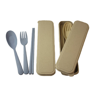Wheat Straw 3 Pieces Cutlery Set