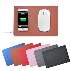 Wireless Charging Mouse Pad | AbrandZ Corporate Gifts Singapore