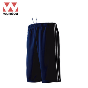 Wundou P2080 Half-Length Track Trousers with Piping
