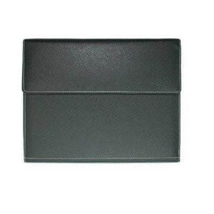 A4 Folder with button closure | Leather Portfolios | desk | AbrandZ: Corporate Gifts Singapore