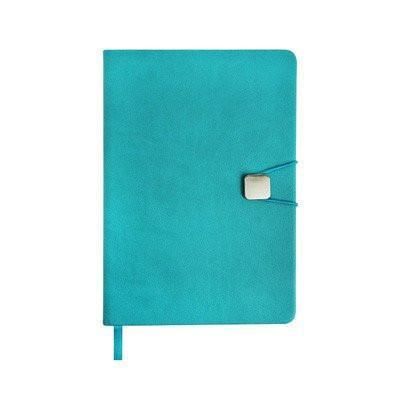 A5 Hard Cover Notebook with Elastic Closure