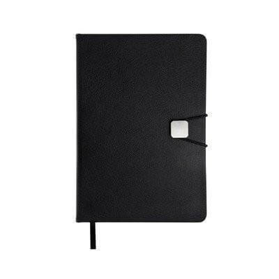 A5 Hard Cover Notebook with Elastic Closure | Premium Notebooks | pen | AbrandZ: Corporate Gifts Singapore