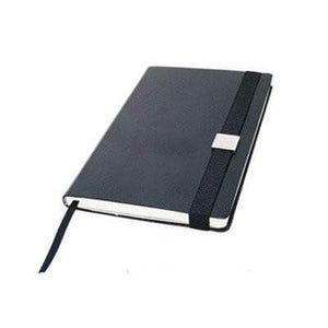 A5 Hardcover Notebook with elastic strap | Premium Notebooks | desk | AbrandZ: Corporate Gifts Singapore