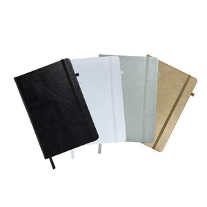 A5 Metallic Notebook | Premium Notebooks | desk | AbrandZ: Corporate Gifts Singapore