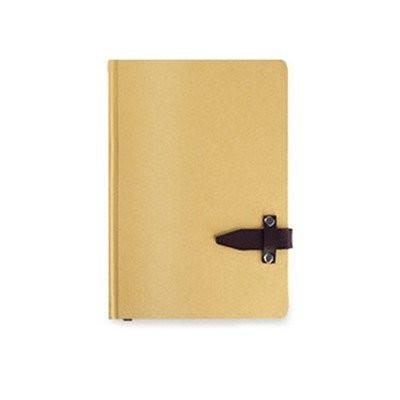 A5 Notebook with Leather Closure