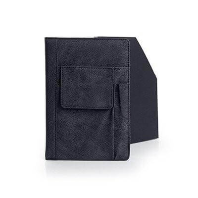 A5 Notebook with Mobile Phone Pouch and Pen Holder | AbrandZ.com