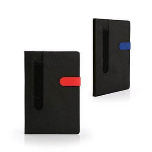 A5 Notebook with Pen Loop | Premium Notebooks | desk | AbrandZ: Corporate Gifts Singapore