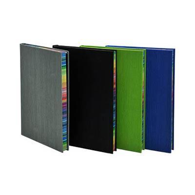 A5 Notebook With Rainbow Side | Premium Notebooks | desk | AbrandZ: Corporate Gifts Singapore