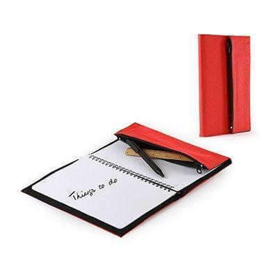 A5 Red Notebook | Promotional Notebooks | desk | AbrandZ: Corporate Gifts Singapore
