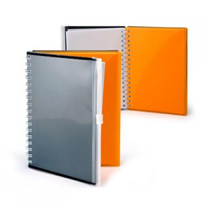 A6 Notebook with Zip Pouch Cover - abrandz
