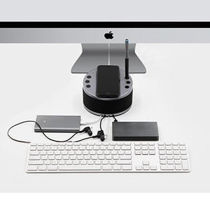 BrandCharger LYNQ Desktop Holder with Speaker and USB Hub | AbrandZ Corporate Gifts Singapore