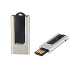 Compact Slider Steel USB Flash Drive