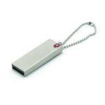 Deluxe Stainless Steel Mini USB Flash Drive