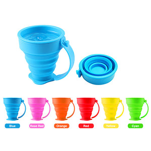 Custom Foldable Silicone Cup - AbrandZ Corporate Gifts Singapore