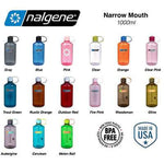 Nalgene 32oz BPA Free Narrow Mouth Water Bottle (1,000ml)