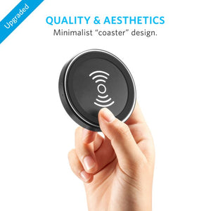 Anker PowerPort 1-Coil Qi Slim Wireless Charging Pad - abrandz