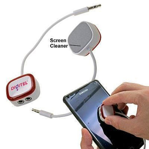 Audio Splitter with Screen Cleaner | AbrandZ Corporate Gifts Singapore