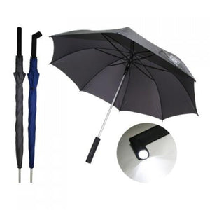 Auto Open Torch Light Umbrella - abrandz