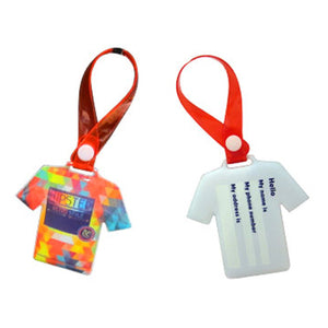 Custom PVC Luggage Tag - AbrandZ Corporate Gifts Singapore