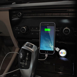 BrandCharger Bulb Universal USB Car Charger | AbrandZ Corporate Gifts Singapore