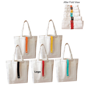 Canvas Foldable Bag | AbrandZ Corporate Gifts Singapore