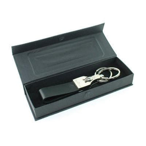 Balenciaga Key Holder In Leather with Removable Rings Gift Set - abrandz