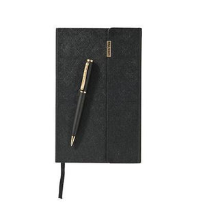 Balmain Ballpoint Pen and Notebook Gift Set - abrandz