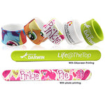 Custom Silicone Slap Band | Custom Products | AbrandZ: Corporate Gifts Singapore