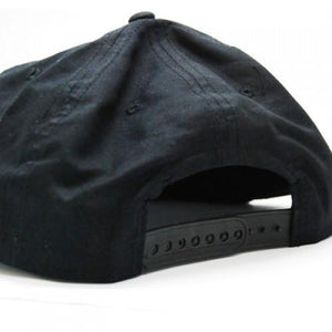 Black Cotton Cap - abrandz