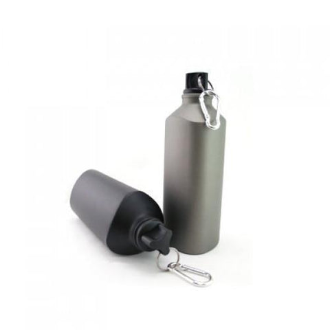 BPA Free Aluminium Twist Bottle with Carabiner | AbrandZ.com