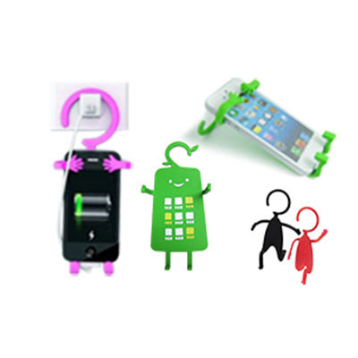 Custom Silicone Mobile Phone Hanger