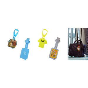 Custom PVC Luggage Tag | AbrandZ Corporate Gifts Singapore