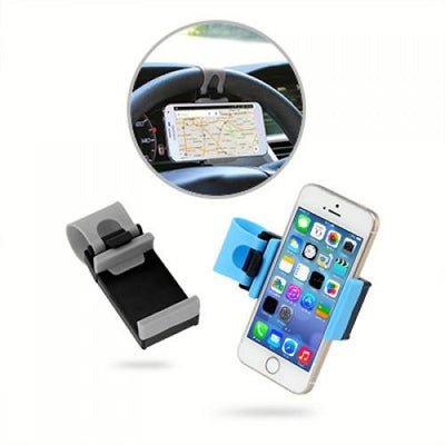 Car Steering Wheel Phone Holder | AbrandZ.com