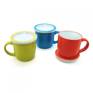 Ceramic Mug with Lid | AbrandZ Corporate Gifts Singapore