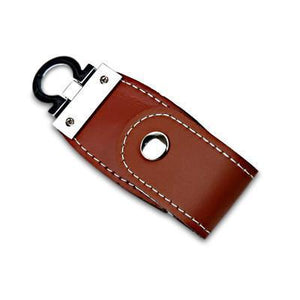 Clasp Leather USB Drive | AbrandZ Corporate Gifts Singapore