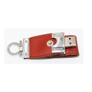 Clasp Leather USB Drive | AbrandZ: Corporate Gifts Singapore