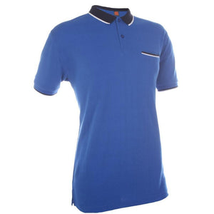 Classic Cotton Polo T-shirt with Reverse Colour Collar | AbrandZ Corporate Gifts Singapore
