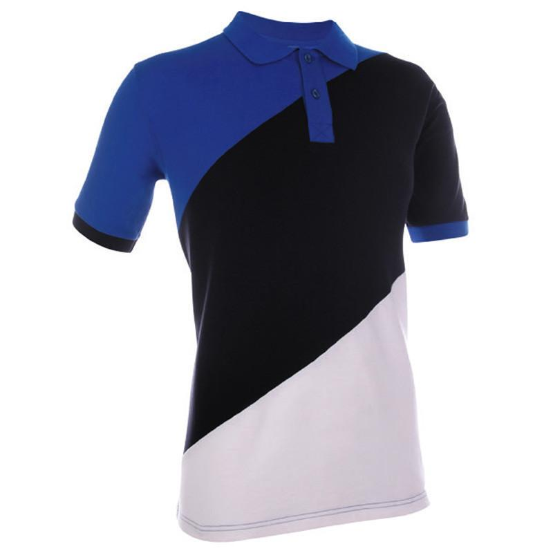 Classic Honeycomb Contrast Colour Polo T-shirt