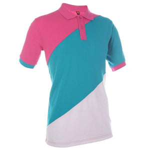 Classic Honeycomb Contrast Colour Polo T-shirt - abrandz