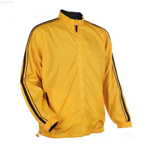 Classic Windbreaker with Sleeve Accents - abrandz