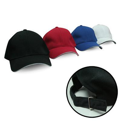 Cool Max Cap with Sandwich and Silver Buckle | AbrandZ.com