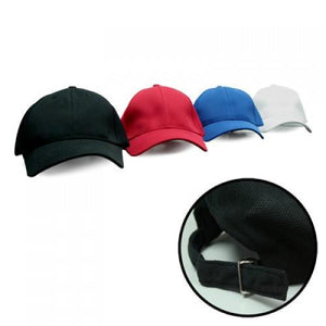 Cool max Plain Cap with Silver Buckle - Corporate Gifts Singapore