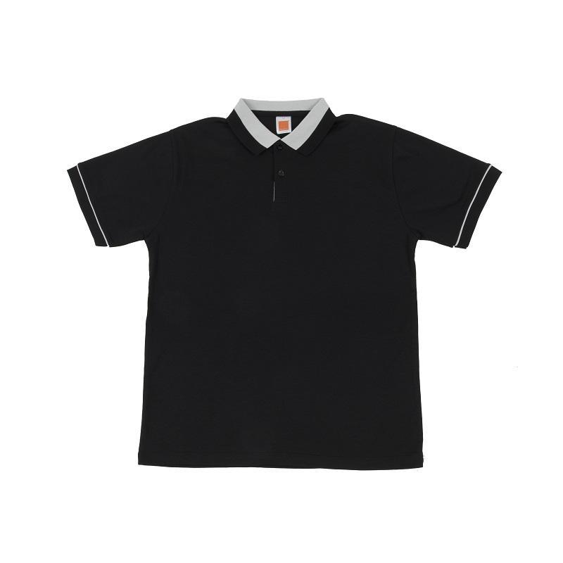 Cotton Interlock Collar T-Shirt