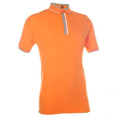 Cotton Interlock T-shirt with colour stripe collar | Polo T-Shirt | apparel | AbrandZ: Corporate Gifts Singapore