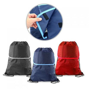 Drawstring Bag with Pocket | AbrandZ: Corporate Gifts Singapore
