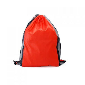 Drawstring Bag With Reflective Panel | AbrandZ: Corporate Gifts Singapore