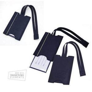 DSE Navy Blue Luggage Tag | Luggage Tag | AbrandZ: Corporate Gifts Singapore