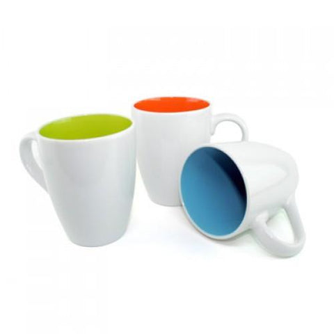 Dual Colour Ceramic Mug 11oz | AbrandZ.com