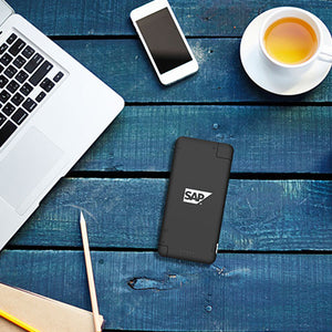 BrandCharger iQ+ Powerbank with Syncing Cable, Card Reader and Portable Data Storage | AbrandZ Corporate Gifts Singapore